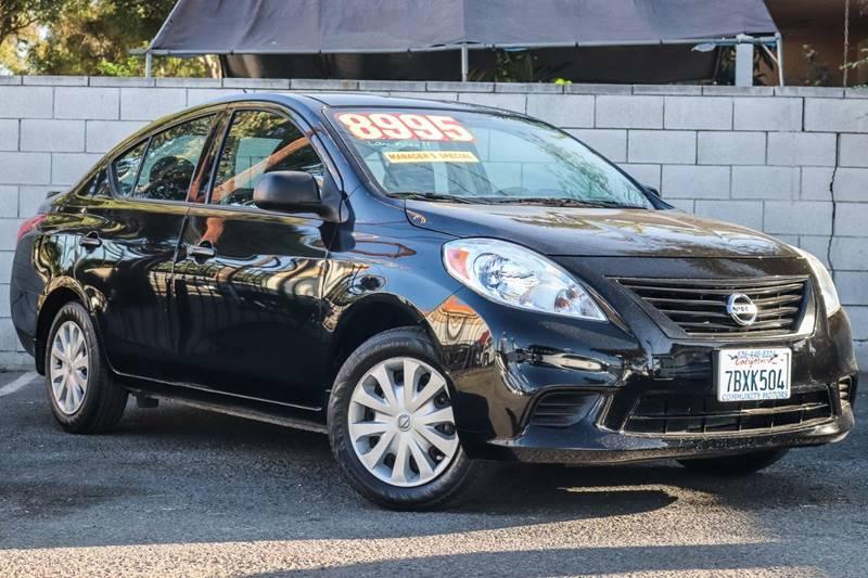 2014 Nissan Versa for sale at Community Motors in El Monte CA
