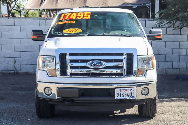 2011 Ford F-150 for sale at Community Motors in El Monte CA