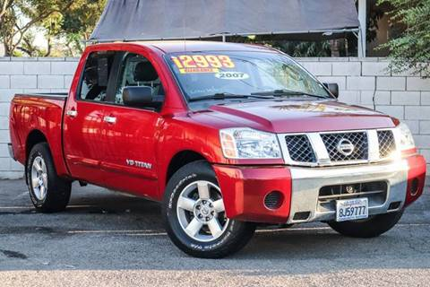 2007 Nissan Titan for sale at Community Motors in El Monte CA