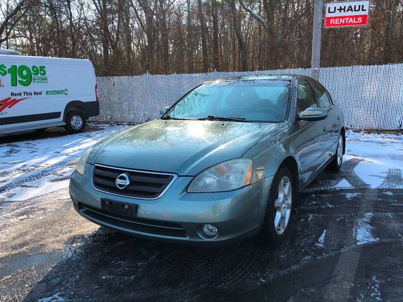 2002 Nissan Altima For Sale At ELHAGE AUTO GROUP In Cohasset MA