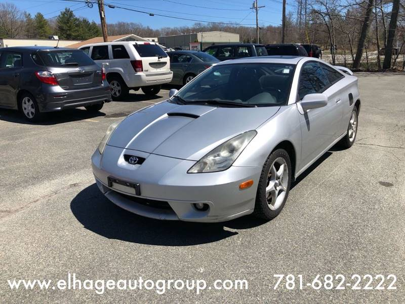 2002 Toyota Celica For Sale At ELHAGE AUTO GROUP In Cohasset MA