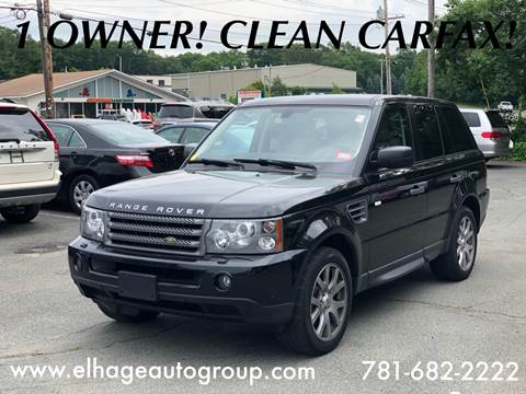 2009 Land Rover Range Rover Sport for sale in Cohasset, MA