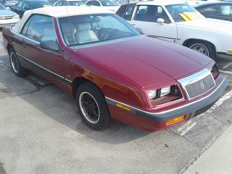 1990 Chrysler Le Baron for sale in Richmond, MI