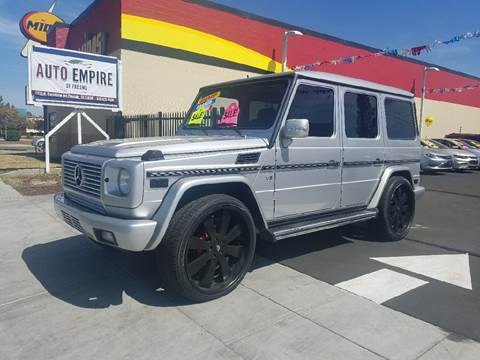 2005 Mercedes-Benz G-Class for sale in Fresno, CA