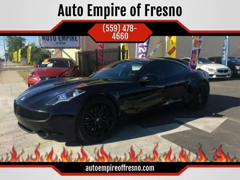 2012 Fisker Karma for sale in Fresno, CA