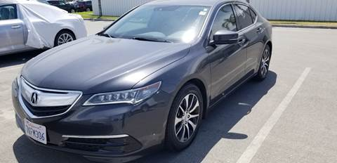 2015 Acura TLX for sale in Fresno, CA