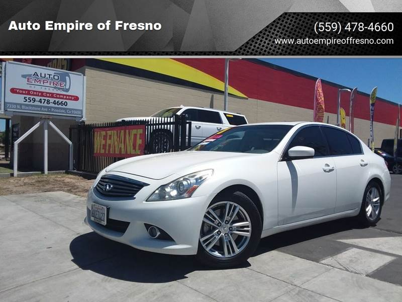 Used Infiniti G37 >> Used Infiniti G37 For Sale In Fresno Ca Carsforsale Com