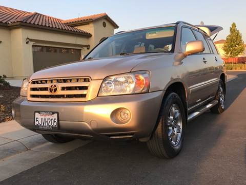 2004 Toyota Highlander for sale in Sacramento, CA