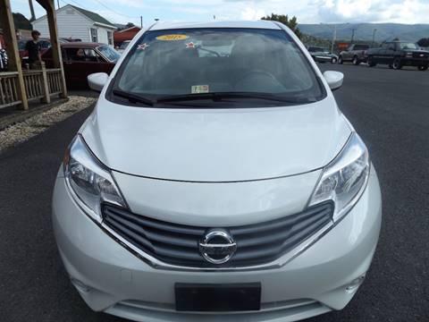 2015 Nissan Versa Note for sale in Covington, VA