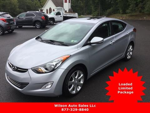2011 Hyundai Elantra for sale in Confluence PA