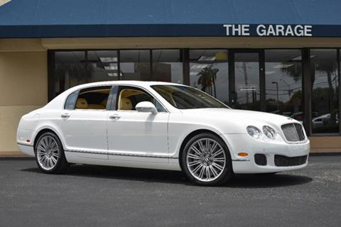 2010 Bentley Continental Flying Spur Speed for sale in Doral FL