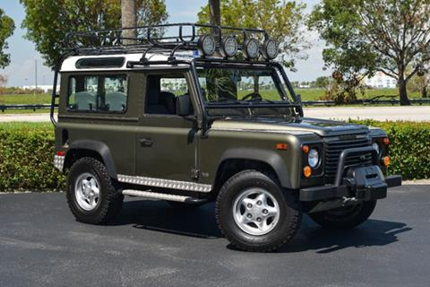 1997 Land Rover Defender for sale in Doral, FL