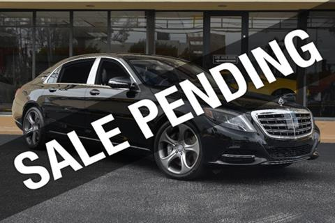 2016 Mercedes-Benz S-Class for sale in Doral, FL