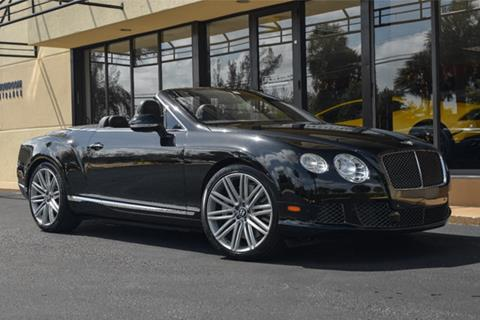 2014 Bentley Continental GT Speed for sale in Doral, FL