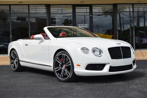 2014 Bentley Continental GTC V8 for sale in Doral, FL