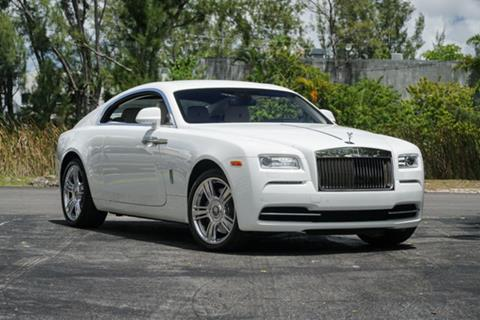 2016 Rolls-Royce Wraith for sale in Doral, FL