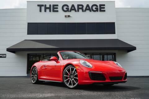 2017 Porsche 911 for sale at The Garage in Doral FL