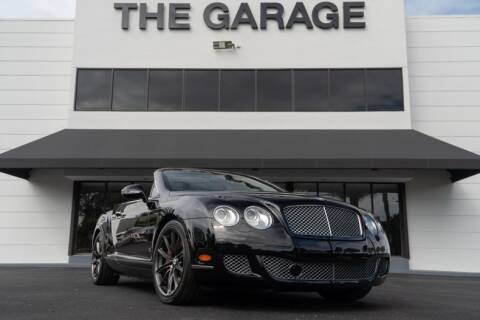 2011 Bentley Continental GT Speed for sale at The Garage in Doral FL