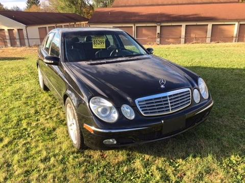 2003 mercedes benz e class for sale in pennsylvania. Black Bedroom Furniture Sets. Home Design Ideas