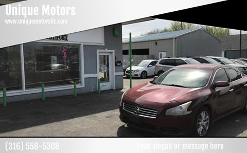 Car Dealerships In Wichita Ks >> Unique Motors Car Dealer In Wichita Ks