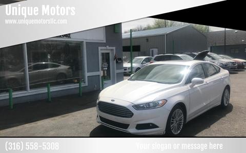 Used Cars Wichita Ks >> 2015 Ford Fusion For Sale In Wichita Ks