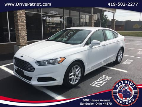 2015 Ford Fusion for sale in Sandusky, OH