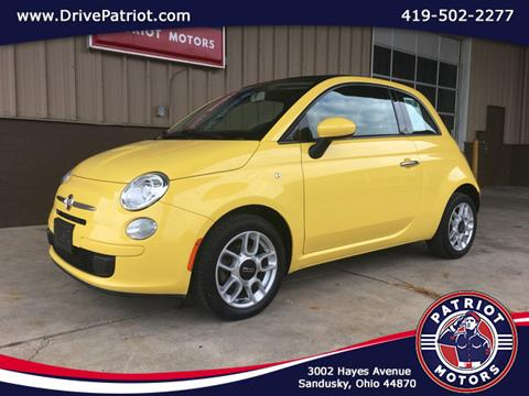 2012 FIAT 500c for sale in Sandusky, OH