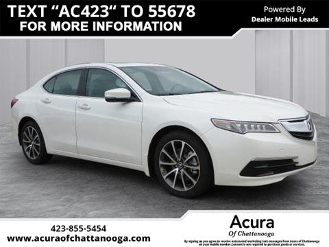 2016 Acura TLX for sale in Chattanooga, TN
