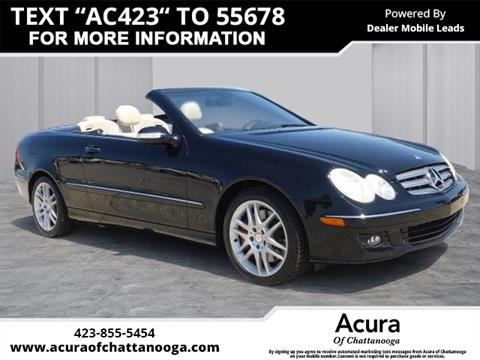2009 Mercedes-Benz CLK for sale in Chattanooga, TN