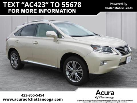 2013 Lexus RX 450h for sale in Chattanooga, TN