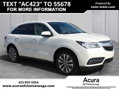 2014 Acura MDX for sale in Chattanooga, TN