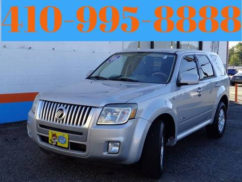 2008 Mercury Mariner for sale at Car Nation in Aberdeen MD