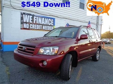 2006 Toyota Highlander for sale at Car Nation in Aberdeen MD