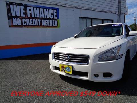 2012 Nissan Maxima for sale at Car Nation in Aberdeen MD