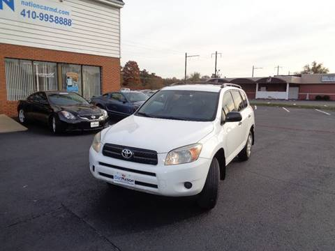 2008 Toyota RAV4 for sale at Car Nation in Aberdeen MD
