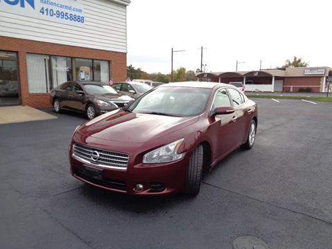 2009 Nissan Maxima for sale at Car Nation in Aberdeen MD
