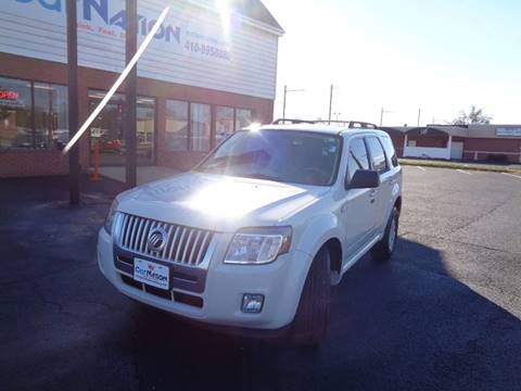 2009 Mercury Mariner for sale at Car Nation in Aberdeen MD