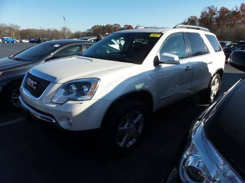 2008 GMC Acadia for sale at Car Nation in Aberdeen MD