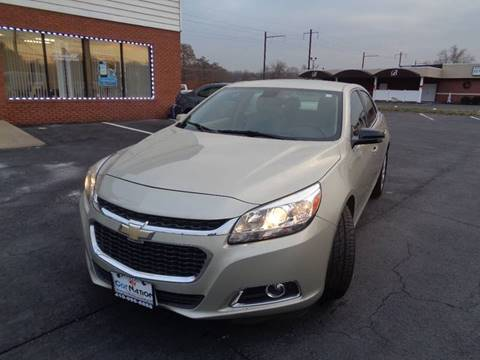 2015 Chevrolet Malibu for sale at Car Nation in Aberdeen MD