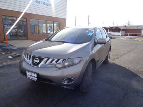 2010 Nissan Murano for sale at Car Nation in Aberdeen MD