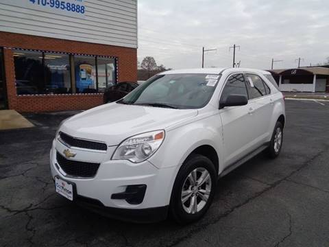 2013 Chevrolet Equinox for sale at Car Nation in Aberdeen MD