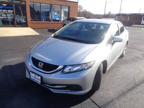 2014 Honda Civic for sale at Car Nation in Aberdeen MD