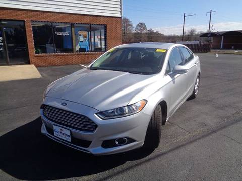 2013 Ford Fusion for sale at Car Nation in Aberdeen MD