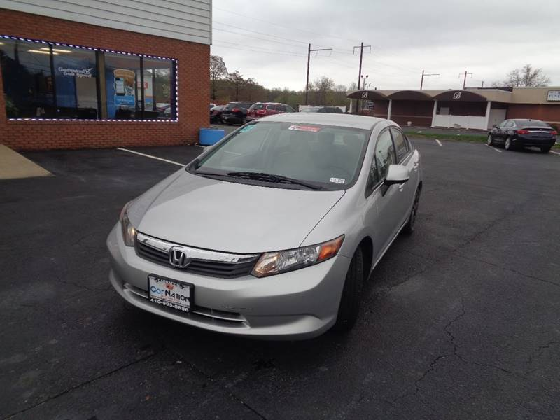 2012 Honda Civic for sale at Car Nation in Aberdeen MD