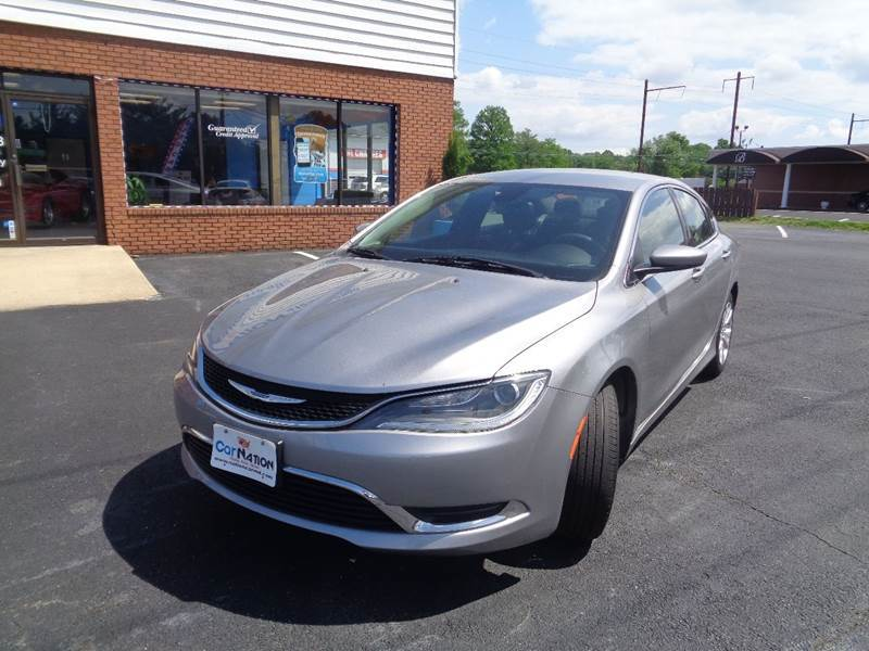 2016 Chrysler 200 for sale at Car Nation in Aberdeen MD
