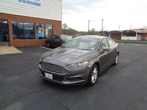 2014 Ford Fusion for sale at Car Nation in Aberdeen MD