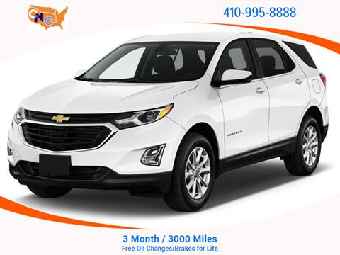 2018 Chevrolet Equinox for sale in Aberdeen, MD