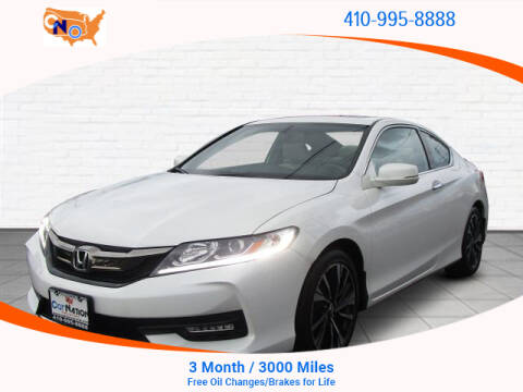2017 Honda Accord for sale in Aberdeen, MD