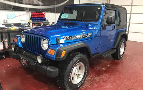 2003 Jeep Wrangler for sale at Badlands Brokers in Rapid City SD