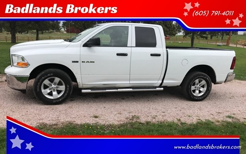 2010 Dodge Ram Pickup 1500 for sale at Badlands Brokers in Rapid City SD